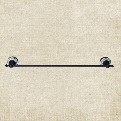 GRENSS Rücken Badezimmer Marke Öl eingerieben schwarz Bronze B5138Luxus Messing Wandhalterung Reinigungstuch Handtuchstangen Regal Handtuchhalter (Bronze 30 Eingerieben öl Handtuchhalter)