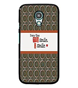 PrintDhaba Quote D-4323 Back Case Cover for MOTOROLA MOTO G2 (Multi-Coloured)