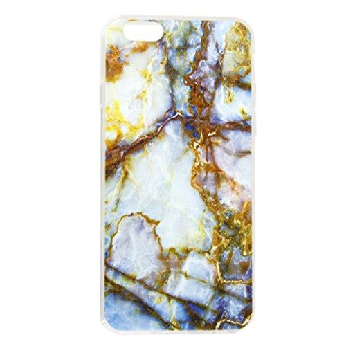 MagiDeal Granit Marmor Weiche Schutzhülle Phone Case Cover Abdeckung für Iphone 6 Plus / 6s plus - #1 #3
