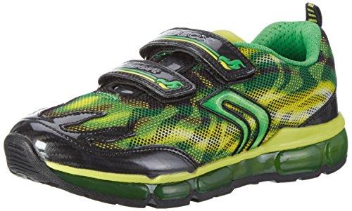 Geox J ANDROID BOY A Jungen Sneakers Grün (green/limec0790)