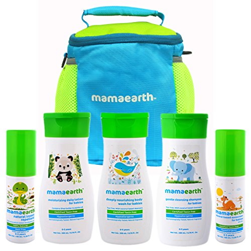 Mamaearth-Complete-Baby-Care-Kit-with-Baby-Lotion-Shampoo-Body-Wash-Mosquito-Repellent-Sunscreen-in-an-amazing-water-proof-baby-bag
