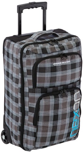 Sherwood Trolley Nexon Overnight Bag, Schwarz/Grau, 80043