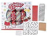 TOYLAND Pack of 6 - Bingo Game Christmas Crackers - novità Christmas Crackers - Giochi di società