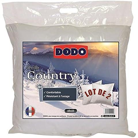 Dodo–Dodo–Juego de 2almohadas Country 60x 60cm