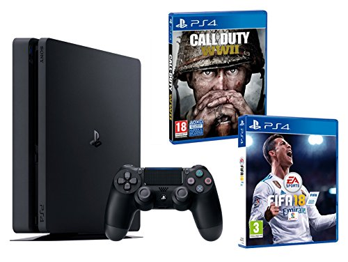 PS4 Slim 500Gb Negra Playstation 4...