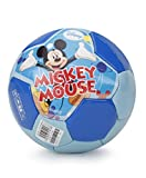 Disney Mickey Soccer Ball packed in PolyBag for Children of age 3 years onwards | Imported Premium Quality | Certified Safe as per European Safety Standards (EN71) | Sports development toys for Kids | Multi Color | Size 3
