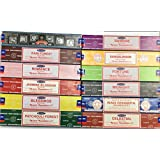 Satya Assorted Incense, 12Boxes, 15g each box