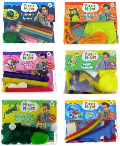 Mister Maker Bumper Minute - Maker Kit Pom-pom
