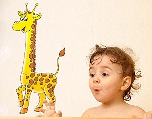Wandsticker Giraffe B x H: 20cm x 40cm von Klebefieber®