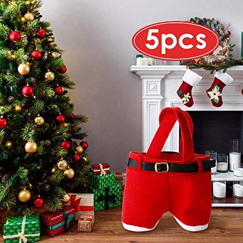 Mbuynow Bolsa Caramelo Navidad/Bolsa Regalo Pantalones