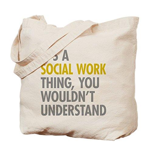 CafePress Kaffeetasse, Social Work,–Leinwand Natur Tasche, Reinigungstuch Einkaufstasche,...