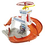 Hot Wheels City - Copter Port Track Set