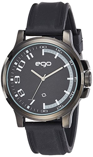 Ego by Maxima Analog Black Dial Men's Watch-E-01194PAGB