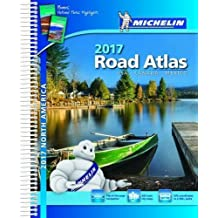 Michelin Road Atlas North America 2017: Usa-canada-mexico