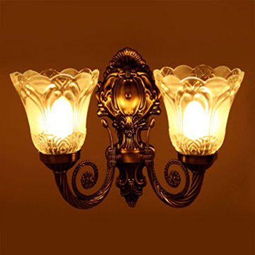 RRudraksh Antique Look Portuguese Style Double Lamp Wall Light/ Decorative Lamp