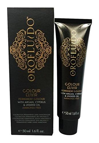 orofluido coloration sans amoniaque 61 blond fonc cendr 50ml - Coloration Blond Cendr Sans Amoniaque