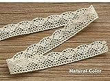 New 4 COLORS 100% cotton lace Fabric fur...