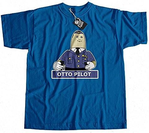 Otto Pilot Airplane Inspired T-Shirt 100% Premium Cotton