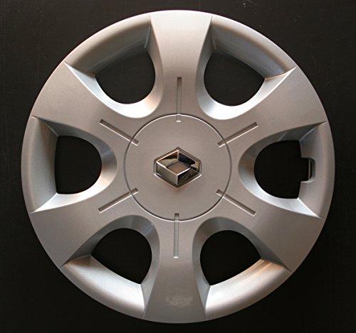 Jeu de 4 Enjoliveurs Neuf Pour Renault Trafic 2 / Clio 3 / Scenic 2 / Scenic 3 / Megane 2 / Megane 3 / Modus / Laguna 2 / Laguna 3 / Espace 4 / Vel Satis / Twingo 2 / Kangoo 2 Avec Roues Originales En 16 Pouces