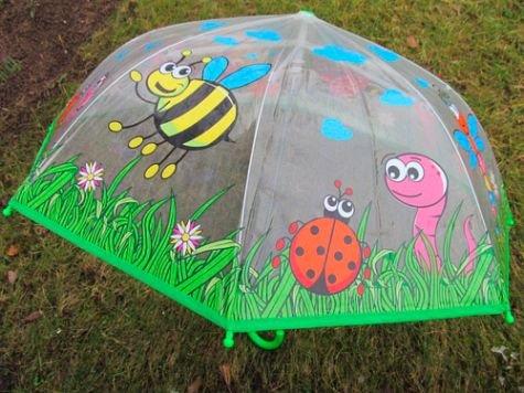 POSTLER HANS GMBH & CO. KG Postler Hans 62686 - Regenschirm Sammelfiguren und Zubehör, Länge 58 cm, Transparent