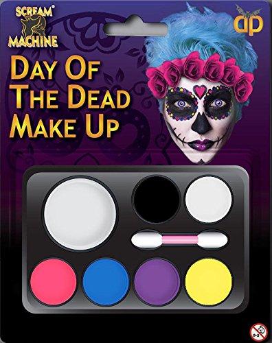 New Face Paint Kit Make-up Set SCARY Halloween Farben Fancy Kleid Kostüm Outfit Zubehör Ideal für Kinder und Erwachsene ()