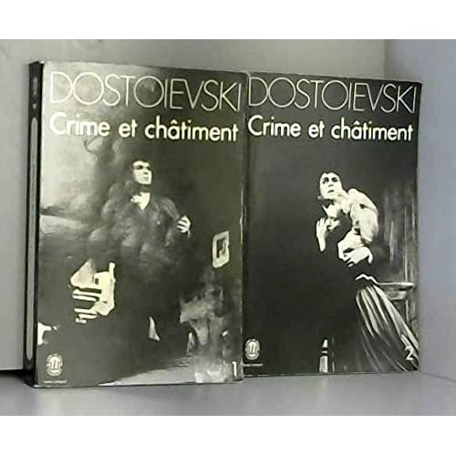 Crime et chatiment 2 tomes