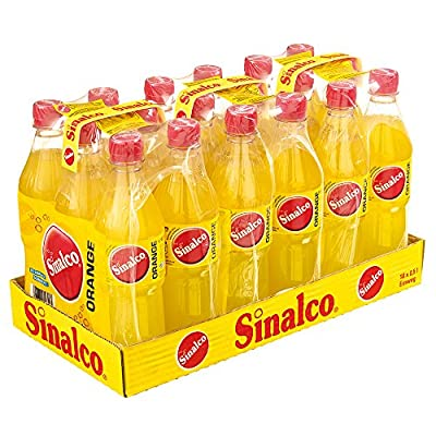 Sinalco Orange Pet, 18er Pack, Einweg (18 x 500 ml)