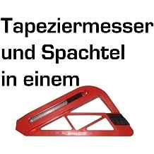 Teppichmesser mit Tapezierlineal Tapeziermesser Cuttermesser TapetenSPACHTEL