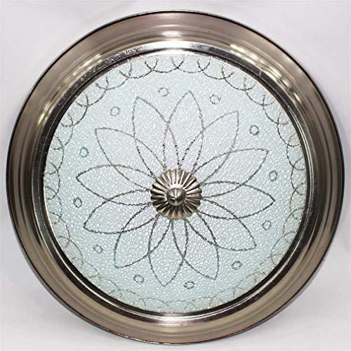 lampenschirm-Ringlicht Retro Industriezogenes Metall Led 220 Warm White für Wohnzimmer Schlafzimmer Arbeitszimmer Restaurant Kronleuchter ()