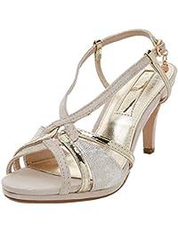 100% autenticado 60% de descuento estilo exquisito Amazon.es: XTI - Dorado: Zapatos y complementos