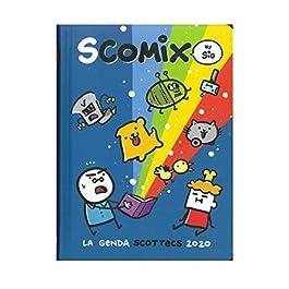 Diario 16 Mesi 11,5×16,5 Datato 2019/20 Comix Scottecs (Blu)