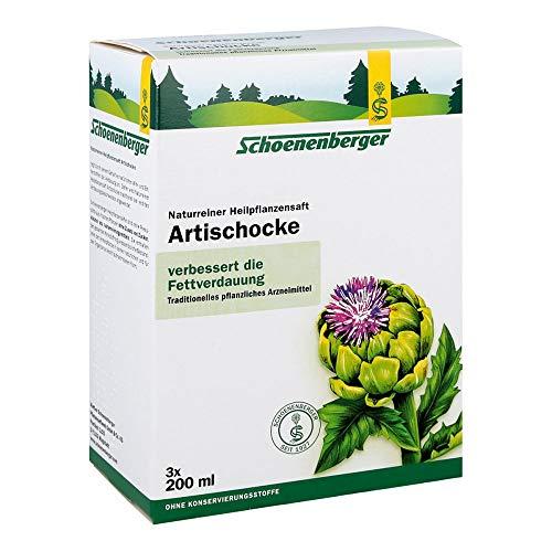 Salus Schoenenberger Artischocke, Naturreiner Heilpflanzensaft - zur Unterstützung der Fettverdauung, 1er Pack(1 x 600 g)
