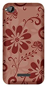 TrilMil Printed Designer Mobile Case Back Cover For HTC Desire 320