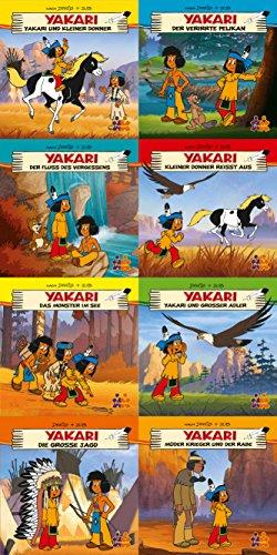 Yakari Mini-Bücher 8er-Set Nr. 3