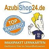 Maxi-Paket Lernkarten Kaufmann / Kauffrau im Gesundheitswesen Prüfung: Prüfungsvorbereitung Kaufmann / Kauffrau im Gesundheitswesen