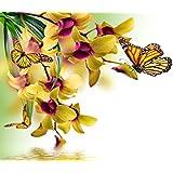 Diamond painting-diamant/broderie peinture diamant image orchideenduft 59 x 43 cm