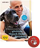 GU 5 Geheimnisse für eine glückliche Mensch-Hund-Beziehung Tier Spezial Gebundene Ausgabe +I love my dog Sticker by Collectix