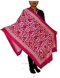 Sanvitta's Jamawar Print Viscose Women's Stole Shawl Wrap Dupatta - B078TDK5RX