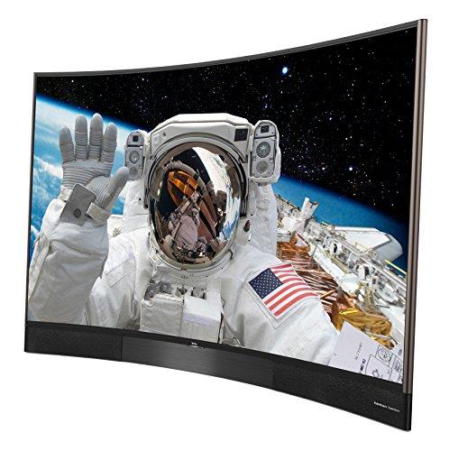 TCL U55S8866S 140 cm (55 Zoll) Curved Fernseher (Ultra HD, Triple Tuner, Smart TV) schwarz [Energieklasse A+] -