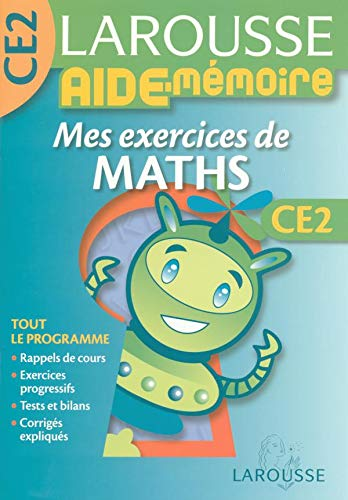 Mes exercices de maths CE2 PDF Books