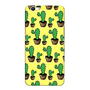 DASM United Oppo F1s Premium Back Case Cover - Cactus Pattern