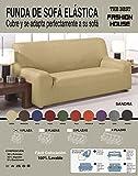The Best Fashion House Sofa Springen Schutzhülle Modell Sandra von 1bis 4Plätze und 10Farben erhältlich Sofa Einsitzer Blau