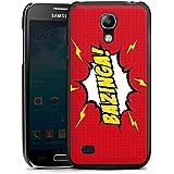 Samsung Galaxy S4 mini Hülle Schutz Hard Case Cover Bazinga Big Bang Theory Sheldon
