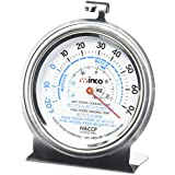 """Culinary Depot (1) Oven Thermometer 50 500 Degrees (1) Refrigerator/Freezer thermometer 20 70 Degrees 3"""" thermometer"""