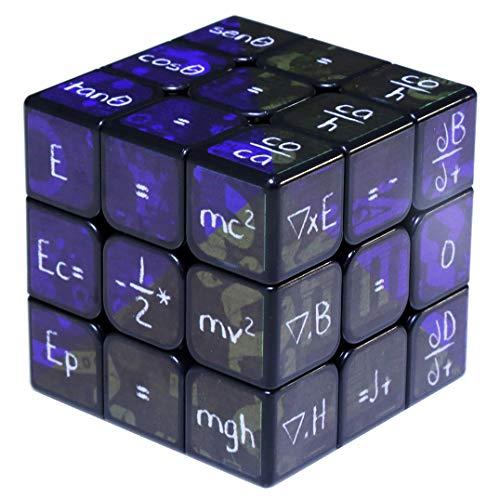 Chemistry Formula Intellectual Intelligence Learning Tool Print Third Order Rubik's Cube Black Bottom ()