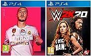 FIFA 20 + WWE 2K20 (PS4)
