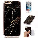 Coque iPhone 6s Plus, SsHhUu Ultra Mince [Marbre Pattern] Flexible Caoutchouc Doux...