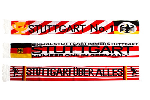 3Pack bufanda Stuttgart Varios Motivos