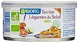 bjorg terrine végétarienne légumes du soleil bio 125 g - lot de 6