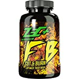 ZEC+ Fatburner FB Cut & Burn - 180 Kapseln, mit Grüntee-Extrakt, Acai-Pulver, Capsaicin, usw. extreme Fatburner regt den Stoffwechsel an und steigert die Thermogenese